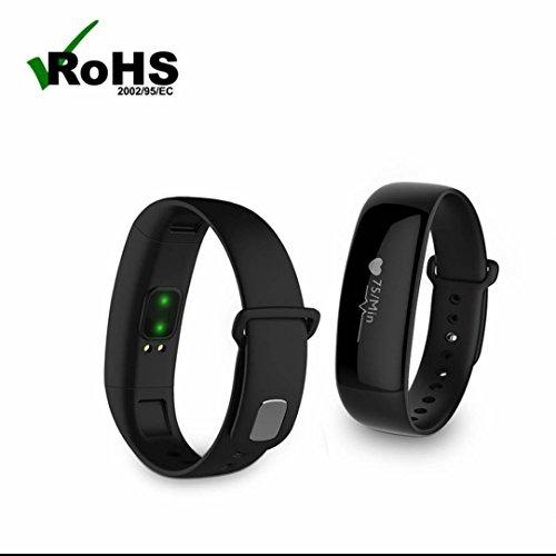 Tracker d'Activité Cardiofréquencemètre,Alarme Vibrante,Cardiofréquencemètres,Moniteur de sommeil,d'Activité Fitness,Mode multi-sport,avec Anti-perte pour Android et iOS iPhone/Samsung/Galaxy/HTC/Sony