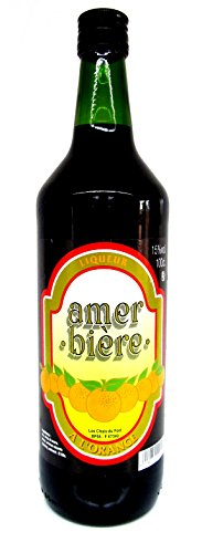 LIQUEUR Amer Biere 15% Vol, aus Frankreich 1 Liter