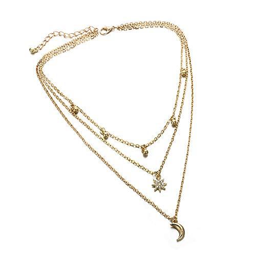 Señoras Collares Mujer Conveniente Collarbone Cadena Ropa Accesorios Collar