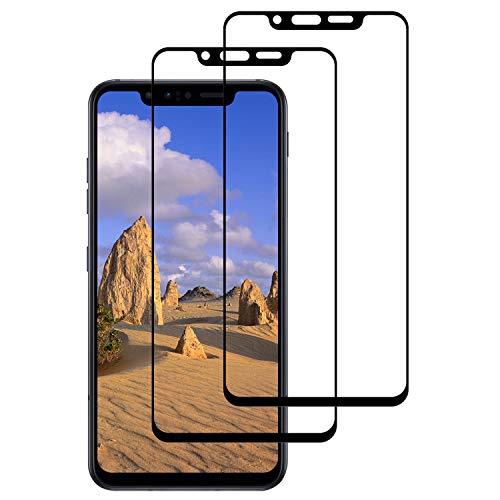 DOSNTO Displayschutzfolien Kompatibel mit LG G8s [2 Stück 3D Panzerglasfolie Durable Anti-Kratzen/Anti-Bläschen/Hülle Freundllich/Anti-Öl Blendschutz Panzerglas