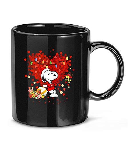 I Love Netball Snoppy cute meme Woodstock big heart Coffee Mug 11 oz