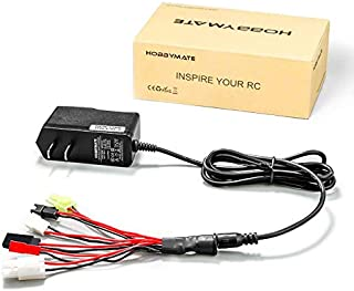 RC Car Battery Charger – 4.8v 7.2v 8.4v 9.6v Nimh NiCd Battery Packs Charger, 2-8..