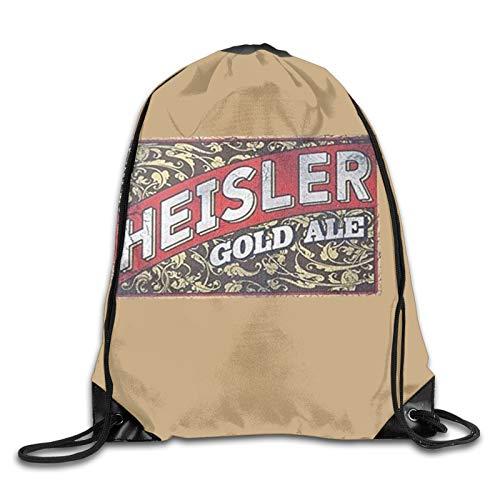 Heisler Bier-Rucksack mit Kordelzug, für Damen und Herren