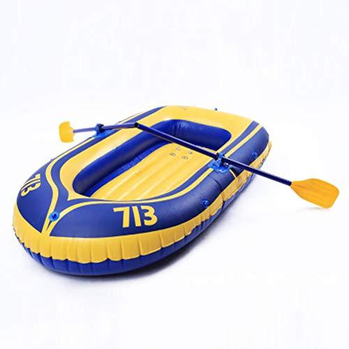 SHZJ Kayak Inflable 1 + 1 Persona, Accesorios De Kayak Paletas Carros Portaequipajes Cubierta De Ancla Correas De Correa Bomba Kit De Pesca Guantes De Varilla