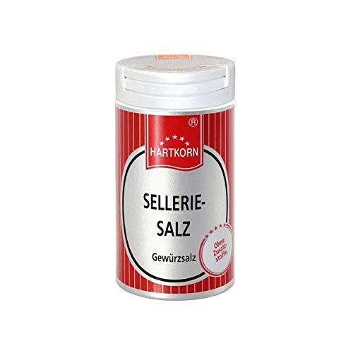Sellerie Salz - 45 g im Aluminium Gewürzstreuer von Hartkorn - wiederverschließbar und wiederbefüllbar