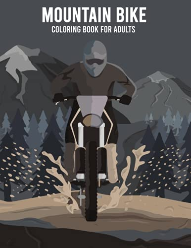 Mountain Bike coloring book for adults: best tooth fairy books