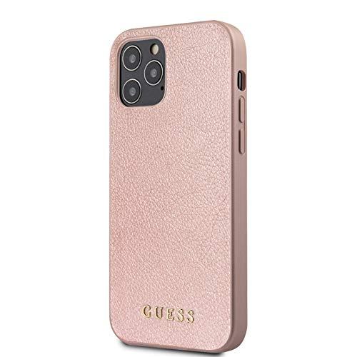 Guess Schutzhülle für iPhone 12/12 Pro, zweischichtig, mit schillernden Reflexen