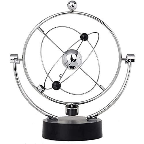 PDXGZ Movimiento Perpetuo Electrónico, Artesanía Orbital De Oscilación Magnética, Vía Láctea Modelo De Anularidad, Adornos De Entretenimiento De Escritorio