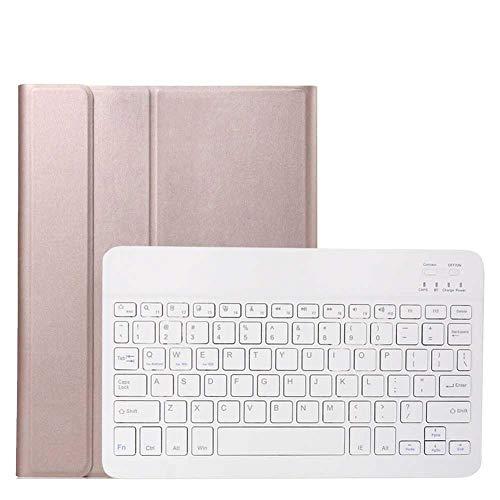 Cubierta magnética para Teclado de Tableta para Samsung Galaxy Tab A6 10.1 con S Pen P580 P585 Funda para Teclado Inteligente Bluetooth Shell + Pen-Sin luz