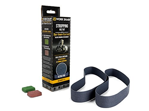 Work Sharp Afilador Ken Onion Edition Blade Grinding Attachment stropping Belt Kit, 09dx032
