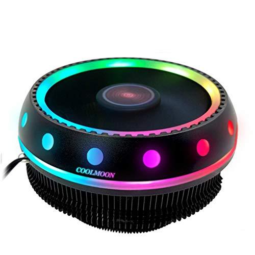 Refrigeración De La Computadora, UFO Symphony CPU Radiador Computadora De Escritorio Ventilador Ventilador Silenciador RGB Cambio De Color Radiador De La Computadora