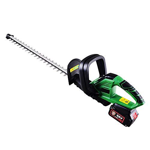 Cortasetos eléctrico HK-HT260, apertura de dientes inalámbrica de 14 mm, longitud de la hoja 510, cortadora de setos de jardín verde de velocidad 1400r / min