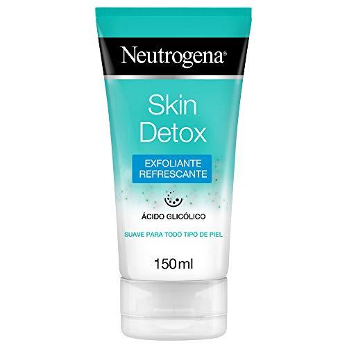 Neutrogena Skin Detox Gel Exfoliante Refrescante con Ácido Glicólico, Todo Tipo de Piel, 150 ml