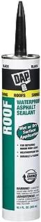 Dap 18268 2 Pack 10.1 oz. Roof Waterproof Asphalt Filler and Sealant, Black