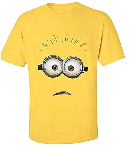 Ich - Einfach Unverbesserlich - Face - Offizielles Herren T-Shirt - Gelb, S