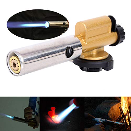 Fantastic Deal! Electronic Ignition Copper Welding Torches, Flame Butane Gas Torch Burner Gun Weldin...