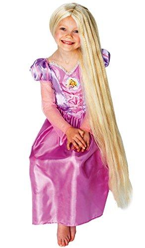 Rapunzel Glow in The Dark Parrucca - Disney - Childrens Fancy Dress Parrucca - One Size