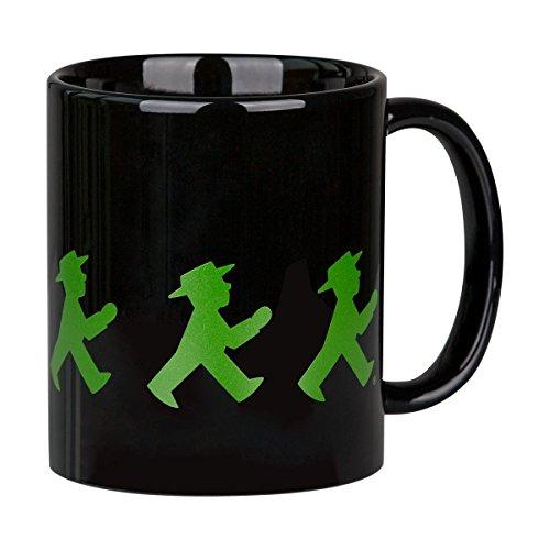 AMPELMANN Kaffeetasse Frühaufsteher Schwarz