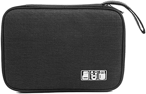 Multifunctional Portable Cable Digital Storage Bags Organizer USB Gadgets Wires Charger Power Battery Zipper Cosmetic Bag