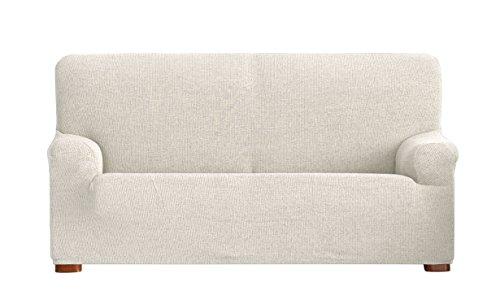 Eysa Dorian - Funda de sofá bielástica, 2 plazas, Color Crudo