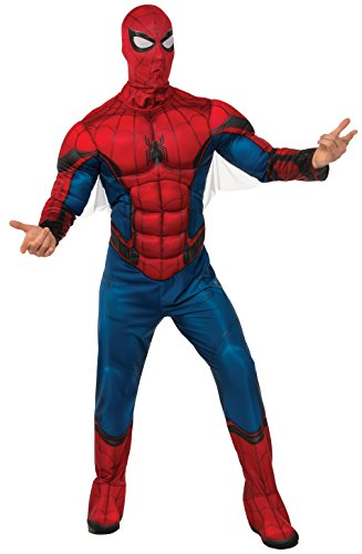 Rubie's Men's Deluxe Adult Costume, Spider-Man: Homecoming, Extra-Large