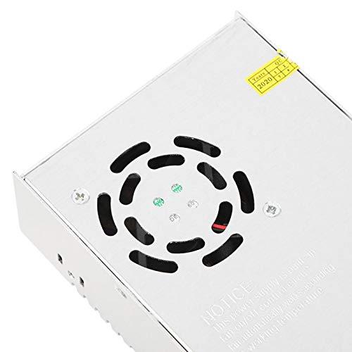 Fuente de alimentación conmutada de aluminio/acero inoxidable, convertidor de energía conmutada, para tiras de luces LED Para máquinas industriales Dispositivo inteligente de impresora 3D
