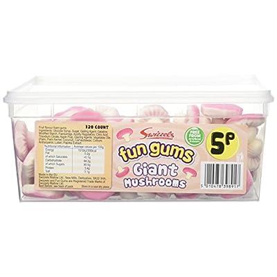 fun gum giant mushrooms tub 120 count Fun Gum Giant Mushrooms Tub 120 Count 410ILw7WiUL