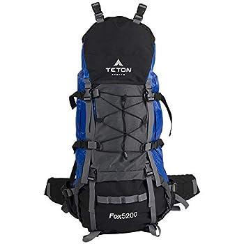 TETON Sports Fox Backpack Aztec Blue  122   34  x 16  x 13