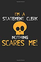 I'm A Statement Clerk Nothing Scares Me: 316 Sudoku Brain Puzzles Game Sheets - Level: Hard (5/5) - Inclusive Solutions   6 X 9 In   15.24 X 22.86 Cm   4 Puzzles Per Page    Funny Great Gift Paper