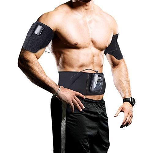 Electroestimulador Muscular Abdominales CinturóN, Electroestimulador Abdominal Mujer Hombre, Cinturon Electroestimulador Muscular Mujer Recargable, Cinturon Electroestimulador Abdominales Tonificacion