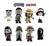 Homies Zombies 3D Figurines - Set of 8