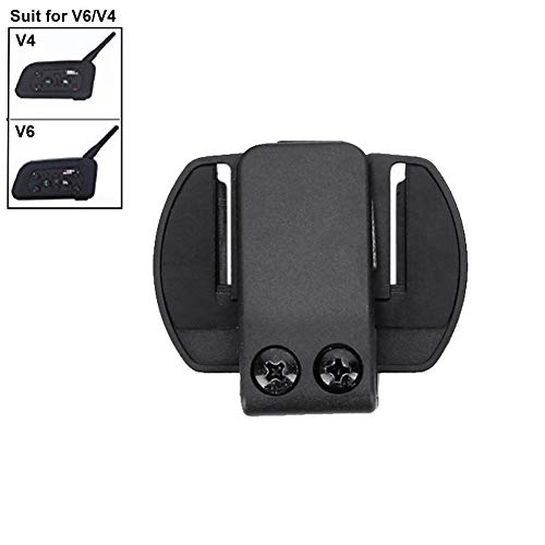 Micrófono Auriculares Clip para V6/V4 Moto Casco Bluetooth intercomunicador Interphone Auriculares
