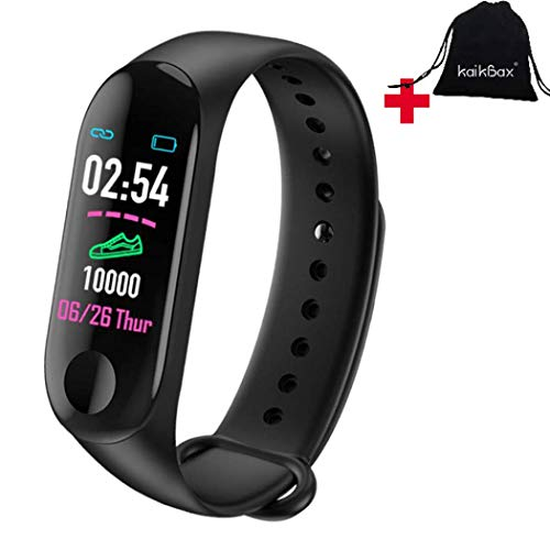 BoBoLing Pedometer Smart Watch - Fitness Tracker with Heart Rate Monitor - IP68 Waterproof Step Counter - Pedometer Smartwatch for Women Men Kids Best QualityShop