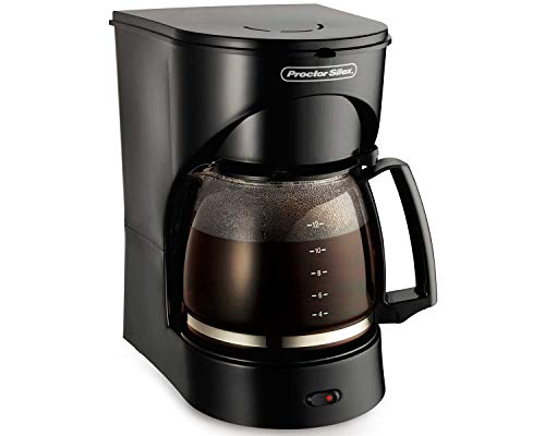 Proctor Silex 12-Cup Coffee Maker, Black (43502)