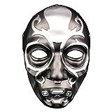 XWYWP Máscara de Halloween de la muerte Eater Máscara de Halloween Horror Cosplay Máscara Bar Fiesta Mascarada de Disfraz de Props Máscara de Resina Casco onesize