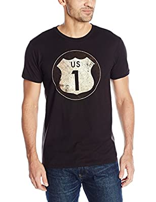 Hanes Men's Graphic Tee - Rugged Outdoor Collection, Route/Black, 3X-Large