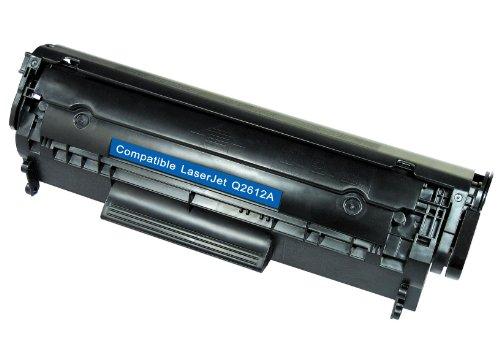 White Box Q2612A/ 12A - Cartuccia Toner Compatibile con HP Laserjet 1010/1012/ 1015/1018/ 1020/3010/ 3015/3020/ 3030/3050/ 3052/3055/ M1005