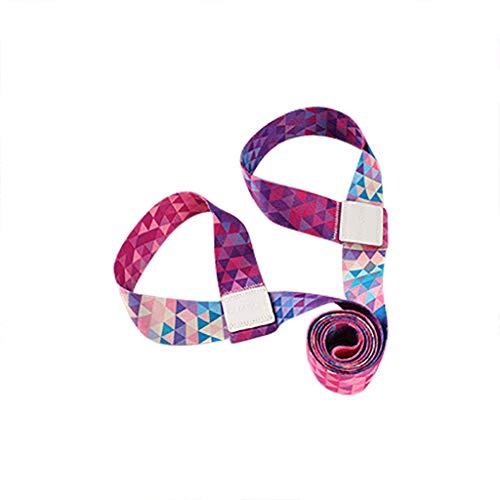 FiedFikt - Correa para esterilla de yoga, banda elástica de algodón, cordón de almacenamiento,...