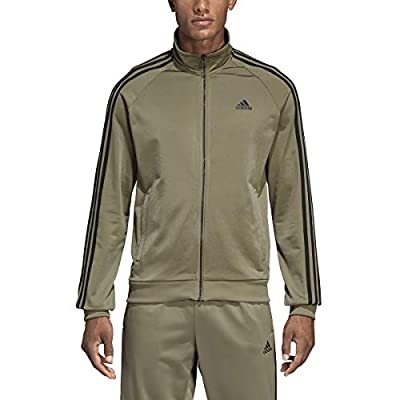 adidas Essentials 3S Tricot Track Jacket Men's All Sports S Trace Cargo from adidas
