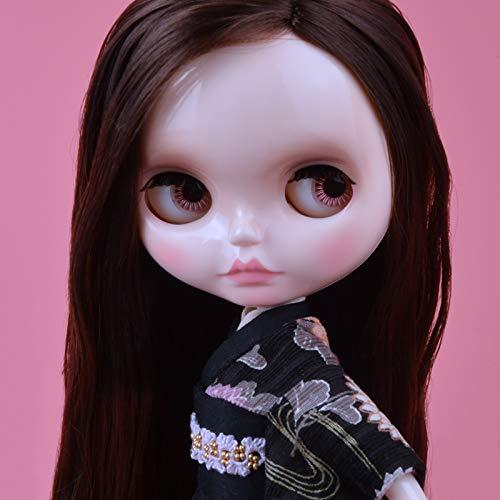 YUMMON el de 12 Pulgadas muñeca Desnuda es Similar a la muñeca del bjd Blyth, muñecos Personalizados se Pueden Cambiar Maquillaje y Vestido de muñecas DIY YM17