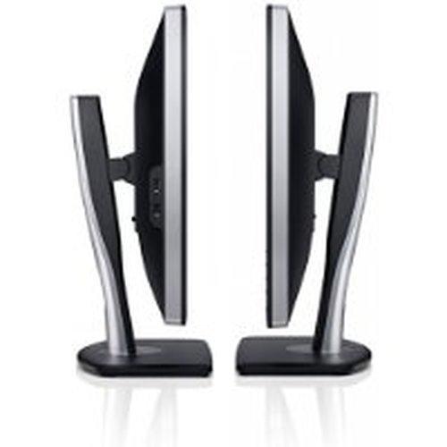 Dell U2412M 61 cm (24 Zoll) LED-Monitor (DVI, VGA, 8ms Reaktionszeit, höhenverstellbar) schwarz/silber - 3
