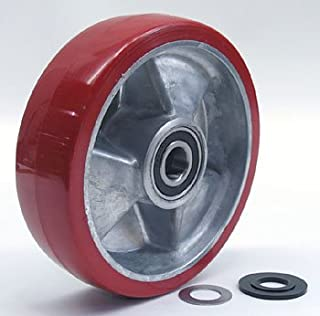 Mobile MLX55 Heavy Duty Steer Wheel Assembly with Bearings