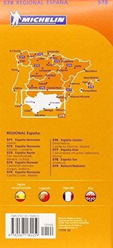 Mapa Regional Andalucía (Carte regionali)