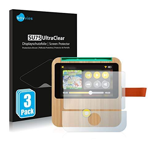 Savvies 6X Schutzfolie kompatibel mit tigerbox Touch Displayschutz-Folie Ultra-transparent