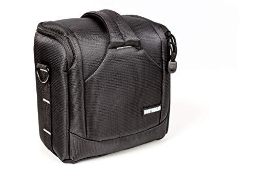 BODYGUARD UNO SLR M piccola borsa fotografica per fotocamere reflex ad es. Canon EOS 70D 77D 80D 200D 1300D 700D 750D 760D 77D 800D Nikon D3300 D3400 D5100 D5300 D5500 D5600 D7200 D7500 D7500