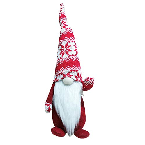 Hohaski Plush Knitted Christmas Decoration Faceless Doll Forest Elder Ornaments, Christmas Ornaments Advent Calendar Pillow Covers Garland Tree Skirt Gift Bags DIY