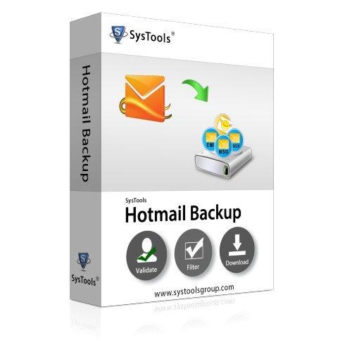 SysTools Copia de seguridad de hotmail (Entrega de correo electrónico-Sin CD)