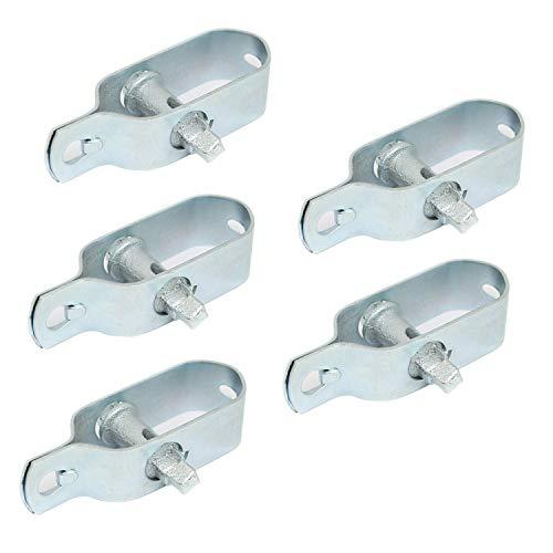 Linxor France ® Lot de 5 tendeurs en acier galvanisé N°3 pour fil de grillage ou autre - Norme CE