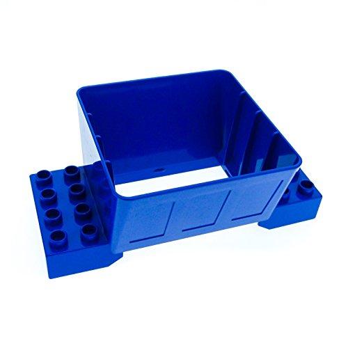 1 x Lego Duplo Kugelbahn Trichter 2x4 blau für Schütte Eisenbahn Baustelle für Set 4987 31025