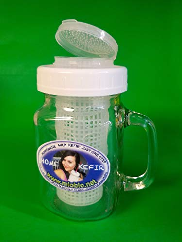 Kefir Fermenter -Infuser, 16 oz for homemade kefir